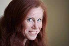 (*Kicki*) Tags: kicki me selfportrait self selfie portrait face woman redhead smile sweden ginger 100mm person people redheads windowlight flickrfriday lesrousses ruivas  rothaarige pelirrojos portrtt
