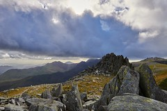 Castell y Gywnt (Castle of the Winds), Glyder Fach, Snowdonia (neilsimpson515) Tags: nikon2470 tryfan snowdonia northwales nikon nikond800e landscape mountains