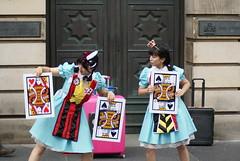 Edinburgh Festival Fringe (Secondcity) Tags: edinburgh edinburghfestivalfringe streetperformer highcourtofjusticiary