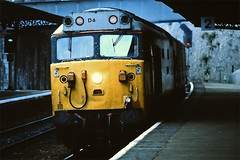 D4 at Teignmouth. (curly42) Tags: class50 hoover englishelectric railway teignmouth