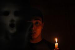 In fear Company (AvellarAdonis) Tags: fear horror candle dark darkness demon ghost dead