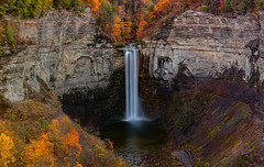 Taughannock Falls (Amar Raavi) Tags: taughannockfalls waterfalls water longexposure autumn panorama highest scenic travel outdoors newyork ny usa america upstate colorful fall nyfalls schuyler gorge rock cliffs