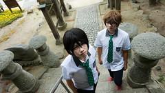 DSC04392.jpg (elyuu) Tags: freeiwatobiswimclub nagisa hazuki haruka nanase makoto tachibana iwami japan cosplay