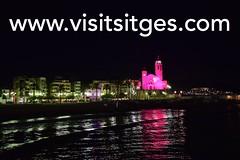 Dia contra el Cncer de Mama a Sitges 2016 (Sitges - Visit Sitges) Tags: dia contra el cancer de mama sitges 2016 visitsitges la punta rosa globus aecc