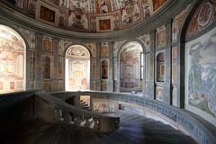 Palazzo Farnese - Farnese Palace (Bluesky71) Tags: caprarola palazzofarnese lazio bellitalia farnesepalace scala stairs