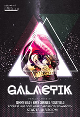 Galactik (DesignerwooArt) Tags: 300dpi 3d abstract advertising alien alternative artwork bass broken city cmyk design dj dope download drum electro event fest festival flyer free future futuristic galaxies galaxy geometry high hiphop house invitation man manipulation minimal minimalist minimalistic modern music party photoshop poster print psd rap rock sky smoke sound sounds space tech techno template trap triangle triangles trippy universe urban dubstep geometrix art hipster robot