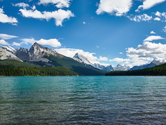 Maligne Lake (JP Roca) Tags: canada nationalparksofcanada mamiyaafd645 mamiya35mmf35 35mm mediumformat phaseonep25 phaseone captureone captureone8 banff jasper lakelouise malignelake lake landscape
