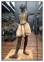 """Small Dancer Aged 14,"" Edgar Degas, Muse d'Orsay, Paris (Doyle Wesley Walls) Tags: lagniappe 2851 edgardegas smalldanceraged14 art sculpture musedorsay smartphonephoto iphonephoto doylewesleywalls masterpiece"