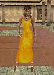 Honey Dripping (SoakinJo) Tags: imvu wetlook wetclothes wetdress honeycoated bathinginhoney highheels extremeheels