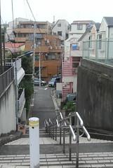 tokyo6094 (tanayan) Tags: urban town cityscape tokyo japan akabane nikon j1    road street alley slope