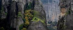 Meteora (M. Xeimonas) Tags: nature mountain meteora greece ellada tree green autumn fall rain amazing unique fairytale heaven