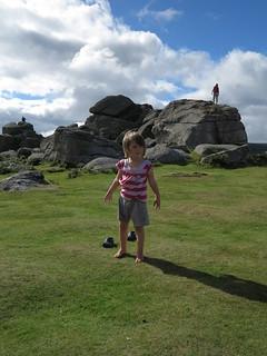 walking around boulders