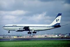 N794EP Boeing 707-321C Iran Air (pslg05896) Tags: n794ep boeing707 iranair lhr egll london heathrow