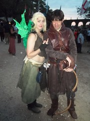 Ramsay Bolton and Dany (Lustiere) Tags: game thrones got gameofthrones ramsay bolton ramsaybolton ramsaysnow snow myranda dreadfort winteriscoming winter is coming cosplay renaissance festival texas trf costume battle bastards battleofthebastards winterfell