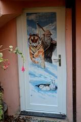 Valloria (131) (Pier Romano) Tags: valloria porte porta dipinta dipinte door doors painted imperia liguria italia italy nikon d5100 paese town dolcedo artisti pittori