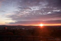 Mt. Auburn Sunset (catherinehodges) Tags: boston watertown massachusetts sunset sun skyline cityscape colors