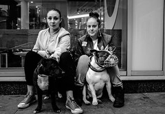 Faces of Manchester. (Keith Vaughton) Tags: streetphotography portraits manchester x100t
