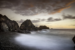 Granada   Espaa (Joseba Grajales) Tags: granada almuecar espaa atardecer sunset mar sea rocas rocks largaexposicin longexposure agua water nikon nikond750 nubes clouds wow