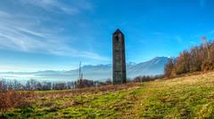 Campanile romanico di San Martino (rasocarlo66) Tags: bollengo bollengodivrea sanmartino campanile romanico francigena viafrancigena