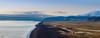 Un panorama à couper le souffle ! (ALAiN_FAURE) Tags: mer ocean eau water beautiful light belle lumiere sun rise sunlight dyrhólaey dyrhólavegur panoramic panorama islande iceland vík mýrdal alain faure alainfaure nikon d610 ile magic moment eyjafjallajökull volcan vulcain volcano plage sable noir black sand beach dark