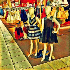 Mannequin Kids _1539 Prisma Breakfast Painterly _1586COPY2PhotoScape (Barrie Wedel) Tags: hss sliderssunday overprocessed digitalart iphone5c painterly painting texture impressionist impressionistic creativeartphotography pictography