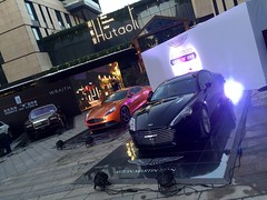 PromoDek_Aston Martin1 (WindoDisplays) Tags: promodek car marketing automotive windodisplays windo showroom autoshow auto show aston martin bentley