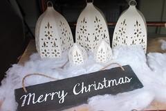 Merry Christmas Bakerlot Deli Mill Street Oakham Rutland 2016 (@oakhamuk) Tags: oakhaminbloom oakham christmas shop window competition rutland
