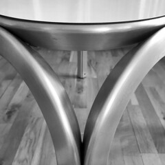"jrn utzon, architect: ""a new angle"" table for fritz hansen, aluminium and mipolam laminate 1967-68 (seier+seier) Tags: utzon jrnutzon jrn jorn architect architecture design fritz hansen furniture new angle seierseier creative commons cc"