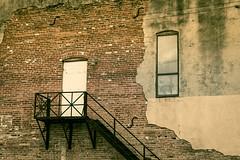 Luling Texas (J&E Adventures) Tags: mainstreet rebelt3 canonphotography canon window staircase digital windows middleamerica exploration urbandecay canoneosrebel urban explore door