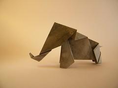 Elephant - Kyu-seok Oh (aka Jassu) (Rui.Roda) Tags: origami papiroflexia papierfalten elefante elephant kyuseok oh jassu