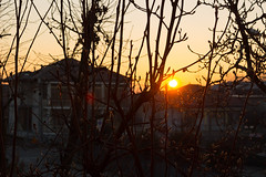SUNRISE  (Luckenj) Tags: alba calma rosso giallo autumn red yellow nature italy