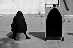 Iran - Qom (luca marella) Tags: blackwhite biancoenero street social documentary reportage lucamarellacom woman bw bn