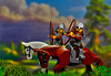 The cavalry of Kievan Rus XII (max327ua) Tags: castle kingdom knight king army archers horse kiev rus xii battle art photoshop lego brick minifig minifigure minifigures warrior cavalry bow bowman