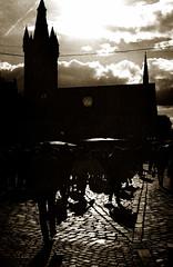 Black shadow 3 (Claudio Taras) Tags: claudio contrasto canona1 controluce cielo trier trix pushed 800 toned digitaltoned monocromo monochrom bw biancoenero taras people shadow street streetshot 35mm film r09 150
