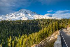 Road to Mount Rainier (b#Photo) Tags: mountrainiernationalpark rainier nationalpark mountrainier mountains hdr road travel washingtonstate washington pnw pacificnorthwest