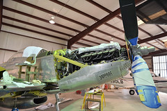 P82 (Chris Usrey) Tags: douglas ga airport p82 twin mustang restoration aviation flying