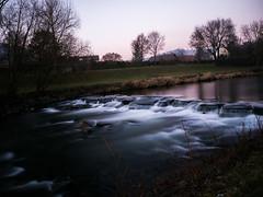 The Flow (Niclas Matt) Tags: nd 1000nd graufilter fluss colors purple evening river water nature