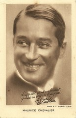 Maurice Chevalier (Truus, Bob & Jan too!) Tags: 1920s cinema france film sepia vintage french star 1930s silent maurice postcard screen manuel sound movies actor chevalier franais campari sonoro acteur sonore filmstar tonfilm stummfilm attore schauspieler muto muet darsteller mauricechevalier
