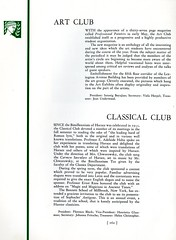 Art Club and Classical Club (Hunter College Archives) Tags: art students club 1936 yearbook clubs classical hunter activities huntercollege artclub studentorganizations organizations studentactivities studentclubs wistarion studentlifestyles classicalclub thewistarion