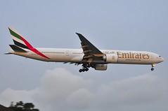 Emirates B777-300ER A6-ECX (altinomh) Tags: plane airport aviation sydney engine twin australia mini seven nsw newsouthwales boeing syd 777 triple spotting jumbo sydneyairport b777 yssy etops minijumbo worldliner