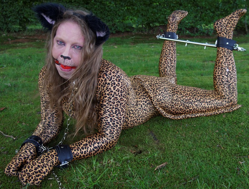 What costume play bondage think