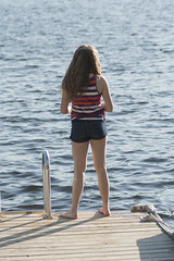 laker12362.jpg (keithlevit) Tags: summer lake ontario canada tourism water vertical standing outdoors dock day child jetty fulllength tourist lakeside tween rearview vacations enjoyment kenora lakeofthewoods oneperson casualclothing traveldestinations leisureactivity keewatin onegirlonly preadolescentchild lookingatview