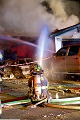 Police chase leads to multiple homes destroyed in fire (YFD) Tags: california usa canon fire action 911 sanjose firetruck sjfd emergency ems firedepartment eos7d