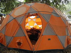 """the """"communal tent"""" (citymaus) Tags: california camping festival forest rave hippie norcal sierranevada musicfestival 108 summersolstice angelscamp"""
