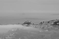 Carezza (scarpace87) Tags: italy cloud fog landscape nikon italia nuvola country hill churches rimini nebbia oldtown antico borgo paesaggio collina 80200mm romagna paese chiese verucchio valmarecchia d7000