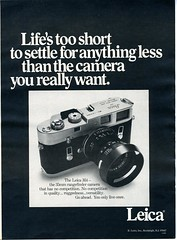 Leica M4 1970 (Nesster) Tags: camera leica vintage magazine print photography ad advertisement advert april 1970 modernphotography