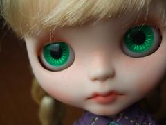 Sammy's green eyechips