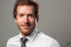 Corporate Headshot (Jon Halvor Jonsrud Knutsen) Tags: man shirt studio corporate tie headshot potrait twolightsetup