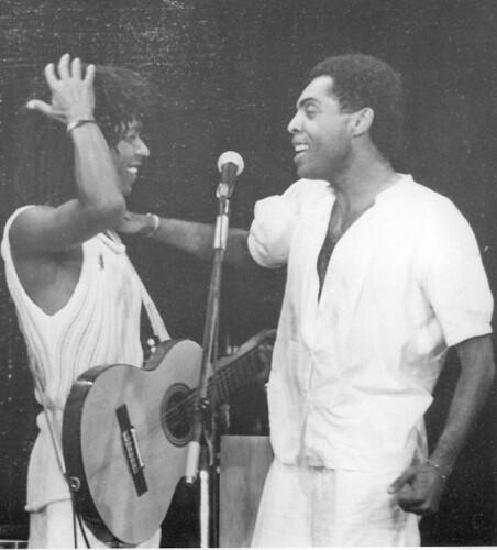Djavan e Gilberto Gil