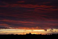 Sunset 10th September 2013 (mark_fr) Tags: york bridge sunset sky sun set sunrise volcano maple view market yorkshire hill estuary vale east dust rise volcanic mere beverley humber hornsea weighton beeford lissett molescroft